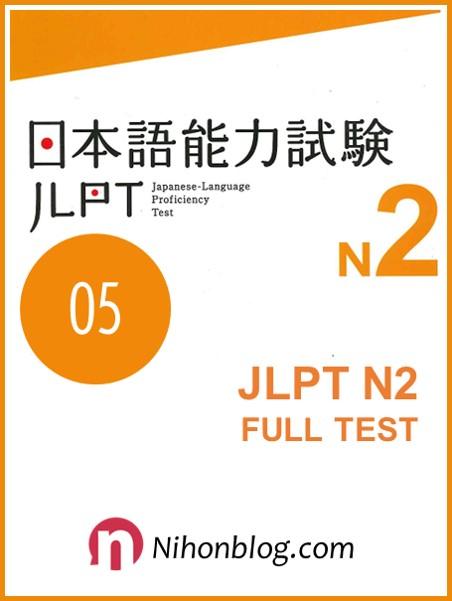 Thi thu JLPT N2 05