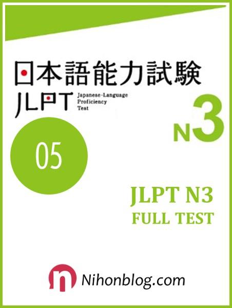 Thi thu JLPT N3 04