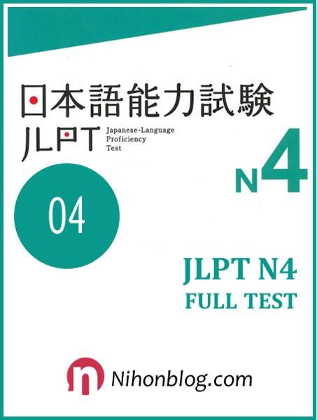 Thi thu JLPT N4 04